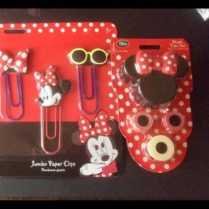 Minnie Mouse School supplies set